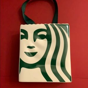 NEW Starbucks Holiday 2019 Siren Bag Ornament